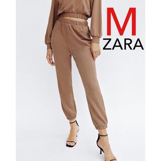 ZARA - ZARA オーガニックコットンパンツ スウェットパンツ スウェット 新品 M