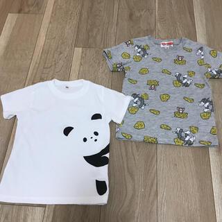 しまむら - 【美品】100センチ Tシャツ トム&ジェリー パンダ