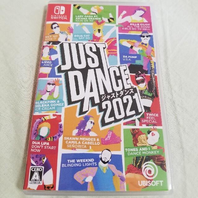 Nintendo Switch(ニンテンドースイッチ)のジャストダンス2021 Switch エンタメ/ホビーのゲームソフト/ゲーム機本体(家庭用ゲームソフト)の商品写真
