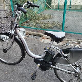 ヤマハ(ヤマハ)の電動自転車YAMAHA  PAS  ナチュラ(シルバー)(自転車)