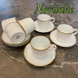Noritake - 美品Noritake★カップ&ソーサー6脚set