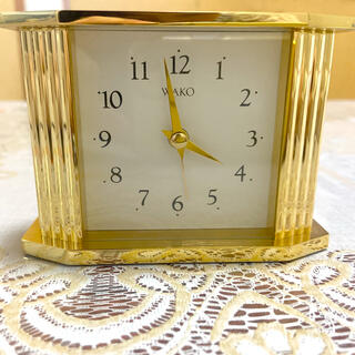 ワコウドウ(和光堂)の置き時計(置時計)