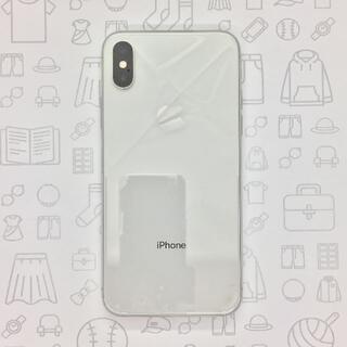 アイフォーン(iPhone)の【B】iPhone X/256GB/353019090092019(スマートフォン本体)
