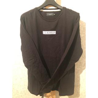 ステューシー(STUSSY)のU.S.BOARDER ロングTシャツ ボックスロゴ(Tシャツ(長袖/七分))