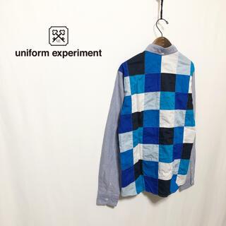 uniform experiment - 【uniform experiment】名作 COLAR CHART SHIRT