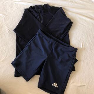adidas - 150 adidas  アディダス男児水着 ラッシュガード(ノーブランド)
