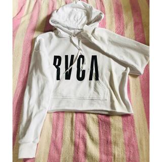 RVCA - RVCA クロップパーカー