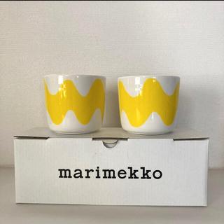 marimekko - 新品未使用★ marimekko マリメッコ  ロッキ ラテマグ 2個セット