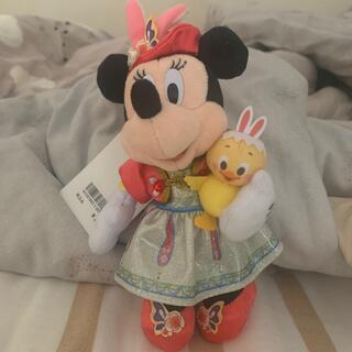 Disney - ミニー ぬいぐるみバッジ うさピヨ