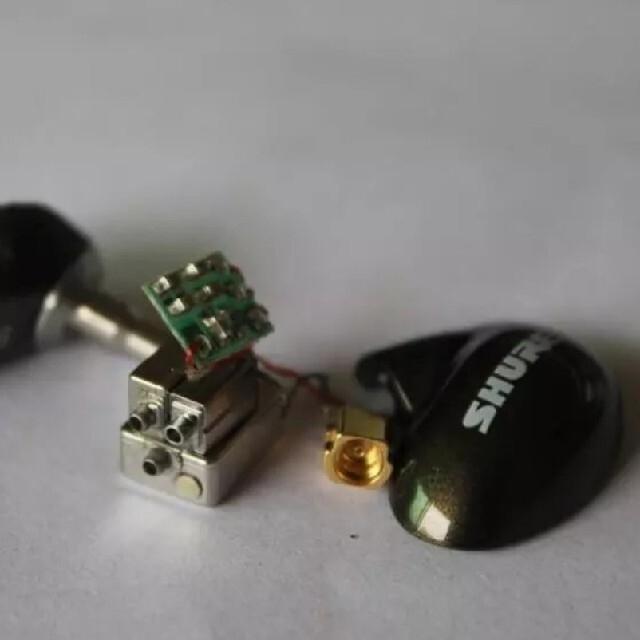 アップグレード DIY SE846 - BT1 ブロンズ スマホ/家電/カメラのオーディオ機器(ヘッドフォン/イヤフォン)の商品写真