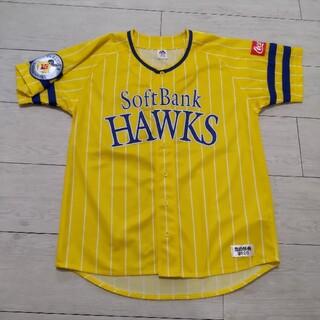 フクオカソフトバンクホークス(福岡ソフトバンクホークス)のソフトバンクホークス ユニフォーム  鷹の祭典2020 イエローストライプ(応援グッズ)