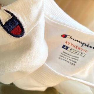 チャンピオン(Champion)のChampion 白ロンT(Tシャツ/カットソー(七分/長袖))