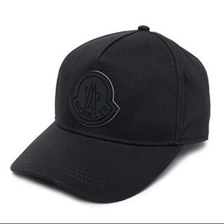 MONCLER - 新品未使用 正規品 モンクレール Moncler ロゴ キャップ ブラック