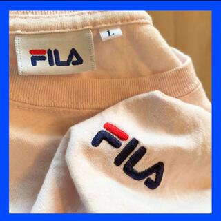 FILA - 【古着T組み合わせ自由】FILA ロゴ刺繍 L