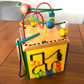 ボーネルンド(BorneLund)の木の玩具★アクティビティキューブ キューブボックス(知育玩具)