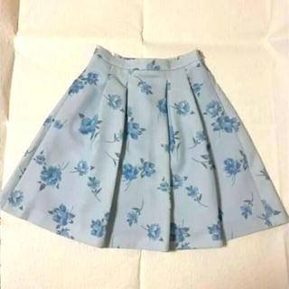 レストローズ(L'EST ROSE)のレストローズ L'EST  ROSE    スカート アイスブルー(ひざ丈スカート)