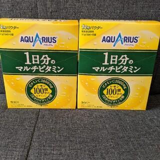 アクエリアス 1日分のマルチビタミン 1L用 パウダー 51g×5袋入×2箱(ソフトドリンク)