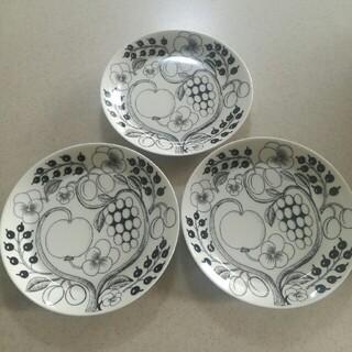 ARABIA - アラビア パラティッシ 21㎝プレート 皿 ブラパラ 3枚セット