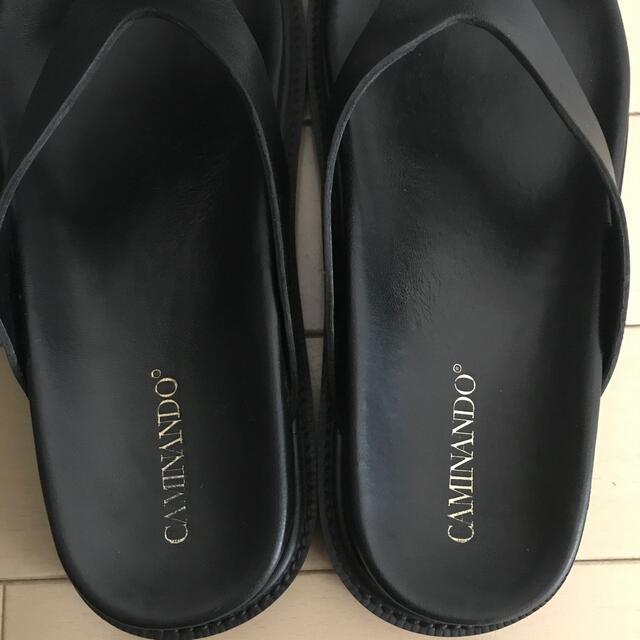 DEUXIEME CLASSE(ドゥーズィエムクラス)のドゥーズィエムクラス カミナンド ブラック37 レディースの靴/シューズ(サンダル)の商品写真