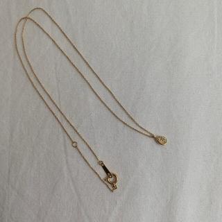 ジュエリーツツミ(JEWELRY TSUTSUMI)のTSUTSUMI ティアドロップ k18ダイヤネックレス(ネックレス)