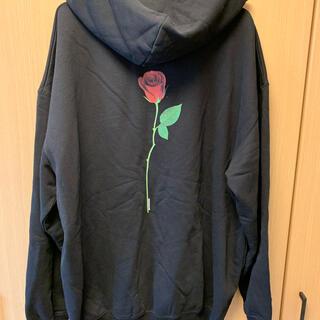 バレンシアガ(Balenciaga)の正規 19SS BALENCIAGA バレンシアガ 薔薇 パーカー(パーカー)