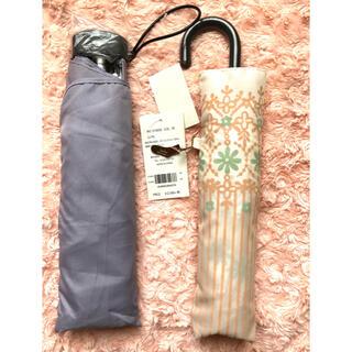 チュチュアンナ(tutuanna)の2個で大破格!折りたたみ傘 チュチュアンナtutuanna+軽量折りたたみ雨傘(傘)