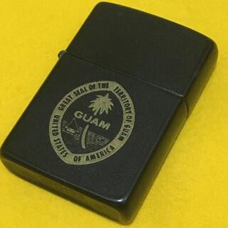 ジッポー(ZIPPO)のZIPPO ブラック×ゴールド GUAM ビンテージ(タバコグッズ)