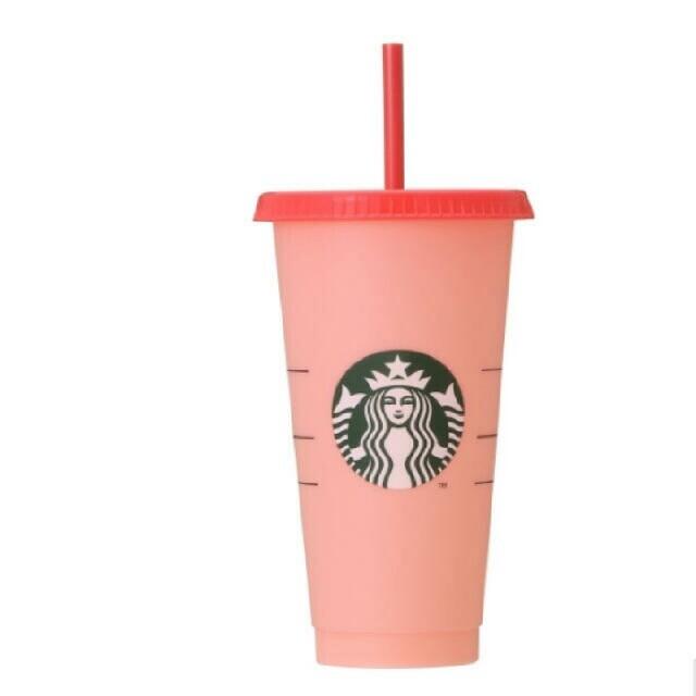 Starbucks Coffee(スターバックスコーヒー)のスターバックス カラーチェンジングリユーザブルコールドカップ インテリア/住まい/日用品のキッチン/食器(タンブラー)の商品写真