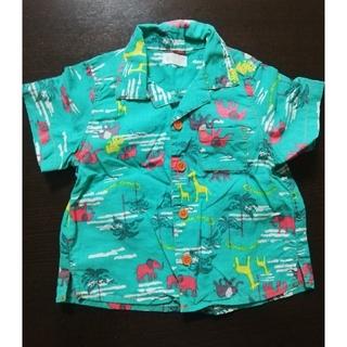コンビミニ(Combi mini)のCombi mini コンビミニアロハシャツ 80 半袖 シャツ (Tシャツ/カットソー)