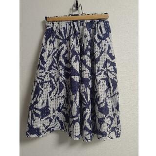 ガリャルダガランテ(GALLARDA GALANTE)の☆コラージュガリャルダガランテ☆リバーシブルスカート フリーサイズ(ひざ丈スカート)