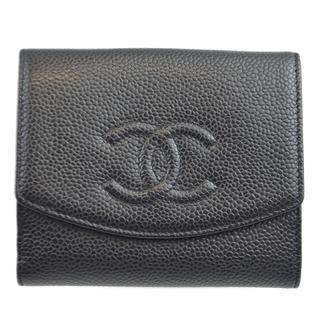 CHANEL - シャネル CHANEL 二つ折り財布 二つ折り財布 レディース【中古】