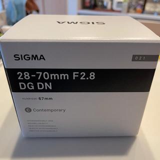 SIGMA - 【新品】Sigma 28-70mm F2.8 DG DN Eマウント用