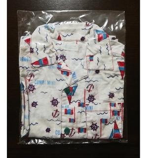 コンビミニ(Combi mini)のCombi mini コンビミニ アロハシャツ 半袖 シャツ 110(Tシャツ/カットソー)