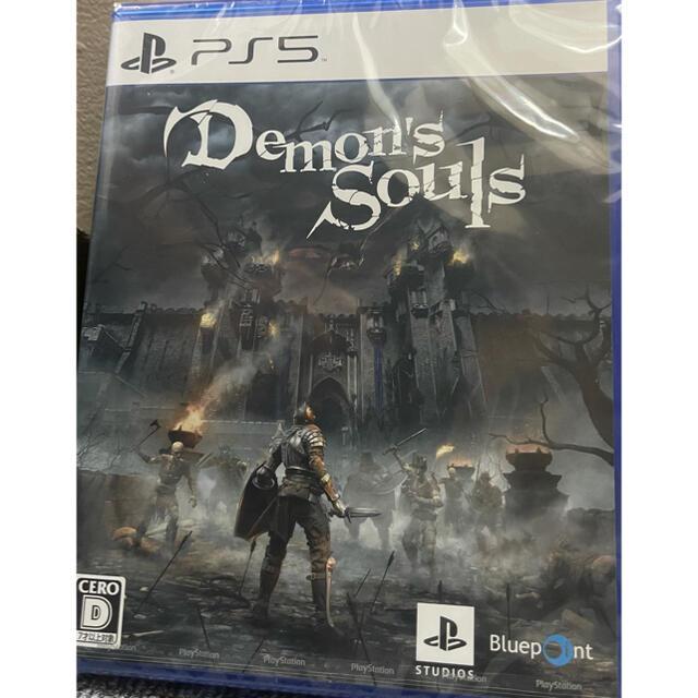 PlayStation(プレイステーション)のps5 デモンズソウル demons souls エンタメ/ホビーのゲームソフト/ゲーム機本体(PCゲームソフト)の商品写真