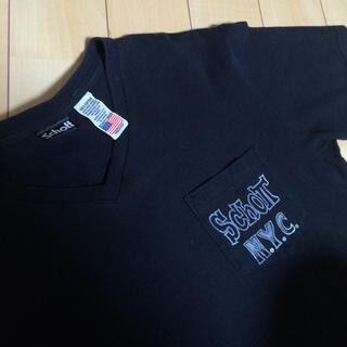 schott - 【schott】ピンストライプポケットTシャツ