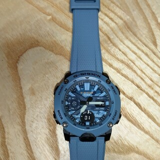 ジーショック(G-SHOCK)のCASIO  G-SHOCK  GA-2000SU 美品(腕時計(アナログ))