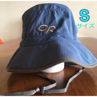 モンベル(mont bell)のアウトドアリサーチ★サンバケット<Sサイズ> 帽子、ハット、日除け、キャンプ、青(ハット)