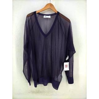 トーガ(TOGA)のTOGA(トーガ) 19AW Sheer Knit V-neck レディース(カットソー(長袖/七分))