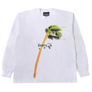 オフホワイト(OFF-WHITE)のOFF-WHITE × Babylon Tシャツ(Tシャツ/カットソー(七分/長袖))
