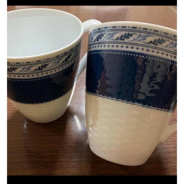 Noritake(ノリタケ)の(未使用)Noritake ANNIVERSAIRE ペアマグカップ インテリア/住まい/日用品のキッチン/食器(グラス/カップ)の商品写真