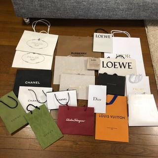 シャネル(CHANEL)のブランドショップ紙袋(ショップ袋)