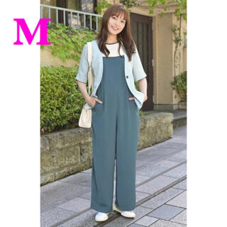 AZUL by moussy - 川口春奈さん着用✨『着飾る恋』moussy マウジー ストリング サロペット M