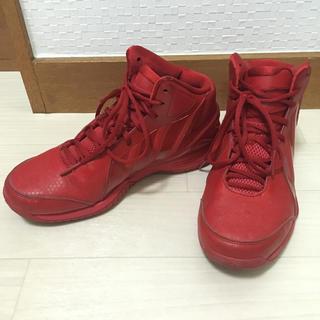 アディダス(adidas)のadidas exile tetsuya ダンスシューズ 赤 男女兼用 レッド (スニーカー)