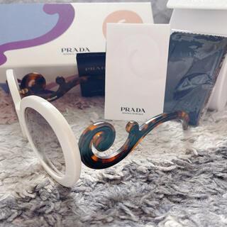 PRADA - 美品 PRADA サングラス ミニマルバロック