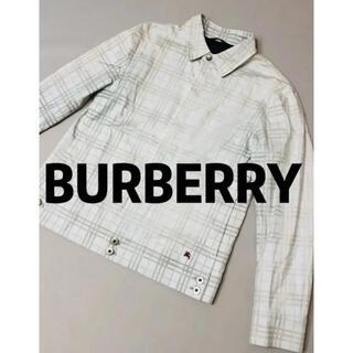 バーバリー(BURBERRY)のバーバリー チェック ジャケット(ステンカラーコート)