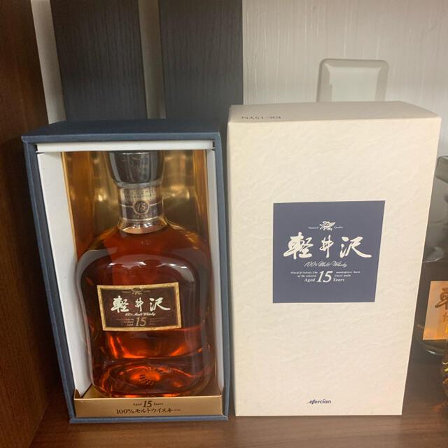 軽井沢 貯蔵15年 モルトウイスキー 700ml 国産ウイスキー 【古酒】 食品/飲料/酒の酒(ウイスキー)の商品写真