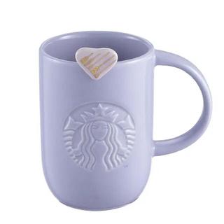 スターバックスコーヒー(Starbucks Coffee)のスターバックス コップ マグ パステル スタバ パープル カップ 紫 ラベンダー(グラス/カップ)