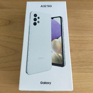 ギャラクシー(Galaxy)の[やんちゃな子猫様専用]GALAXY A32 5G  オーサムホワイト(スマートフォン本体)