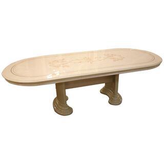 サルタレッリ フローレンス ダイニングテーブル 250cm アイボリー(ダイニングテーブル)