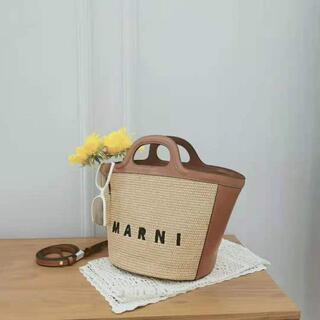 Marni - マルニMarni ラフィア ハンドバッグ